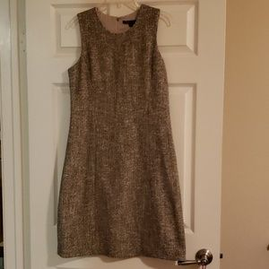Theory Tweed Shift Dress